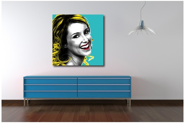 tableau pop art Marilyn
