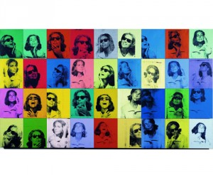 Tableau Pop art warhol